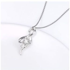 Jewelry - Sterling Silver Love Heart Pendant Necklace
